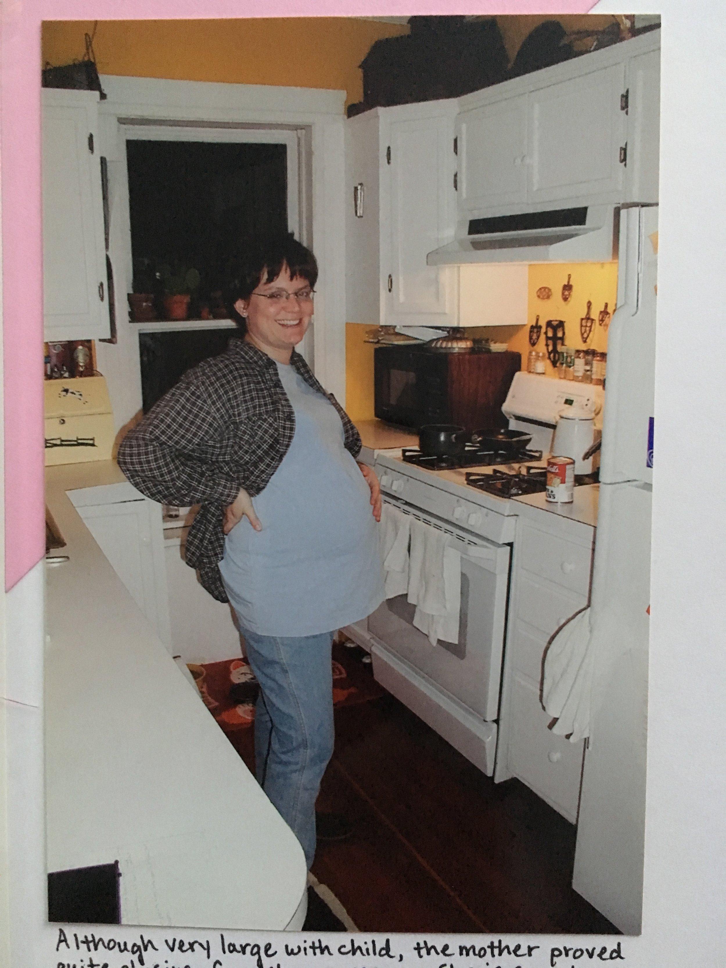 VERY pregnant Suzie.JPG