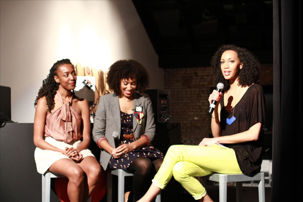 Say What?! hot topics segment with YouTube Personality Franchesca Ramsey & Journalist Hillary Crosley