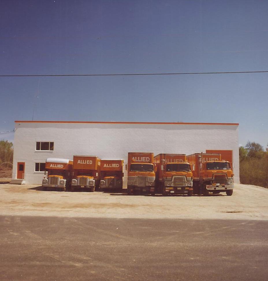 Blanchette Moving Trucks
