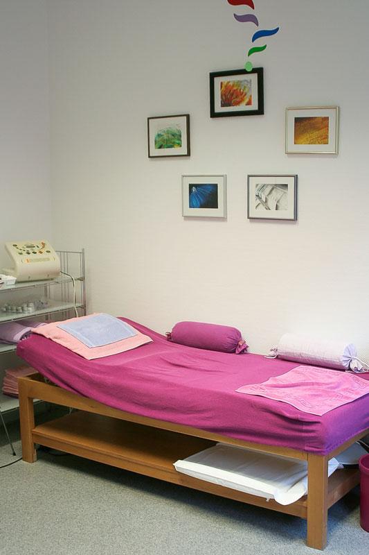 Einer der Therapieräume