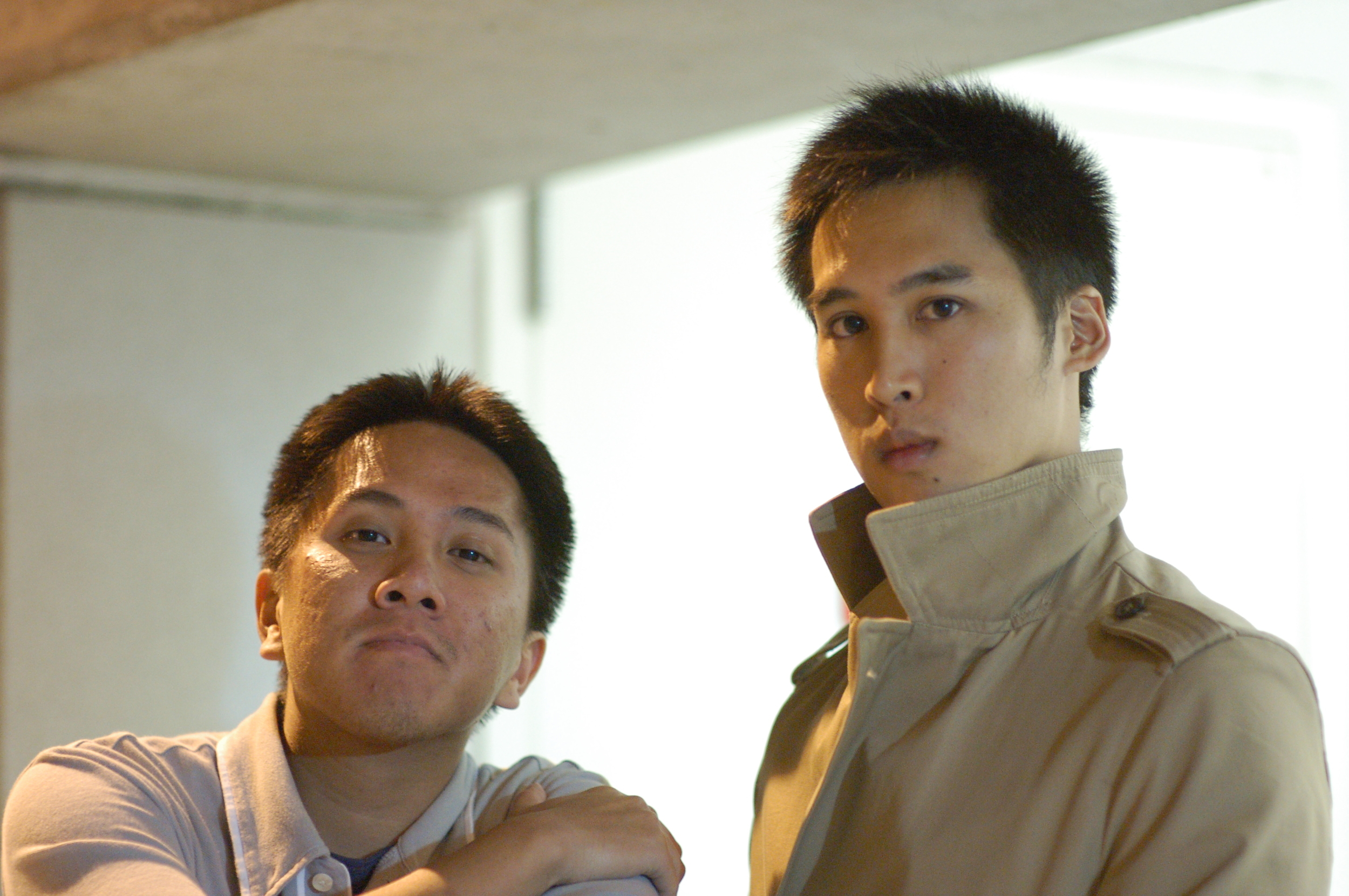 The Double A's: Long Bao Huynh (left), James Y. Shih (right)