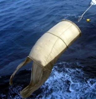 Example: Non-entangling FAD made with biodegradable sheets