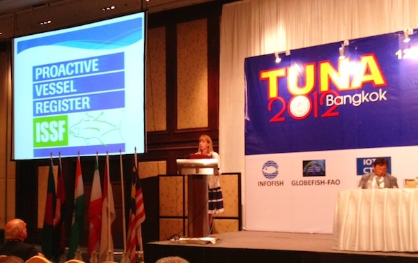 Working with the tuna industry to encourage the adoption of best fishing practices by tuna fleets through the ISSF ProActive Vessel Register