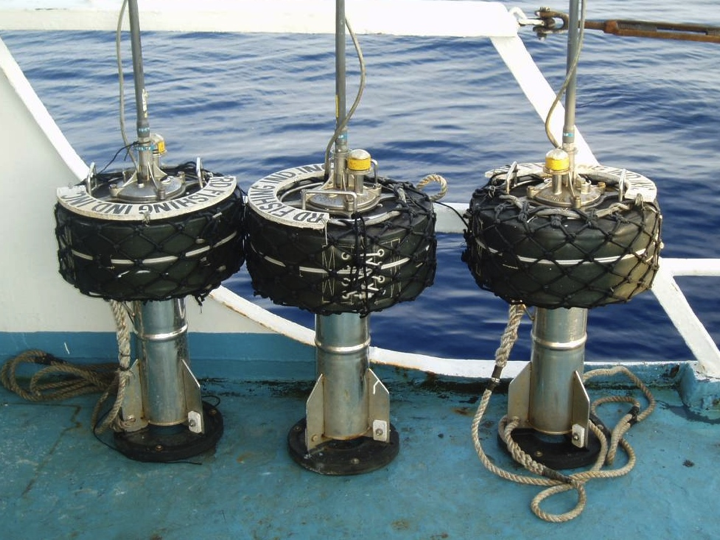 Radio buoys (Photo: SPC)