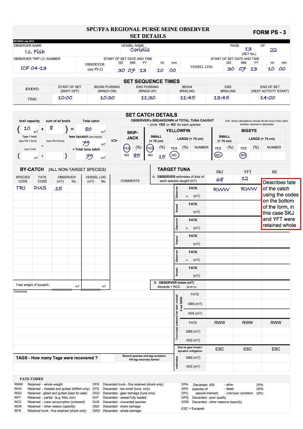 Sample Set Details Form