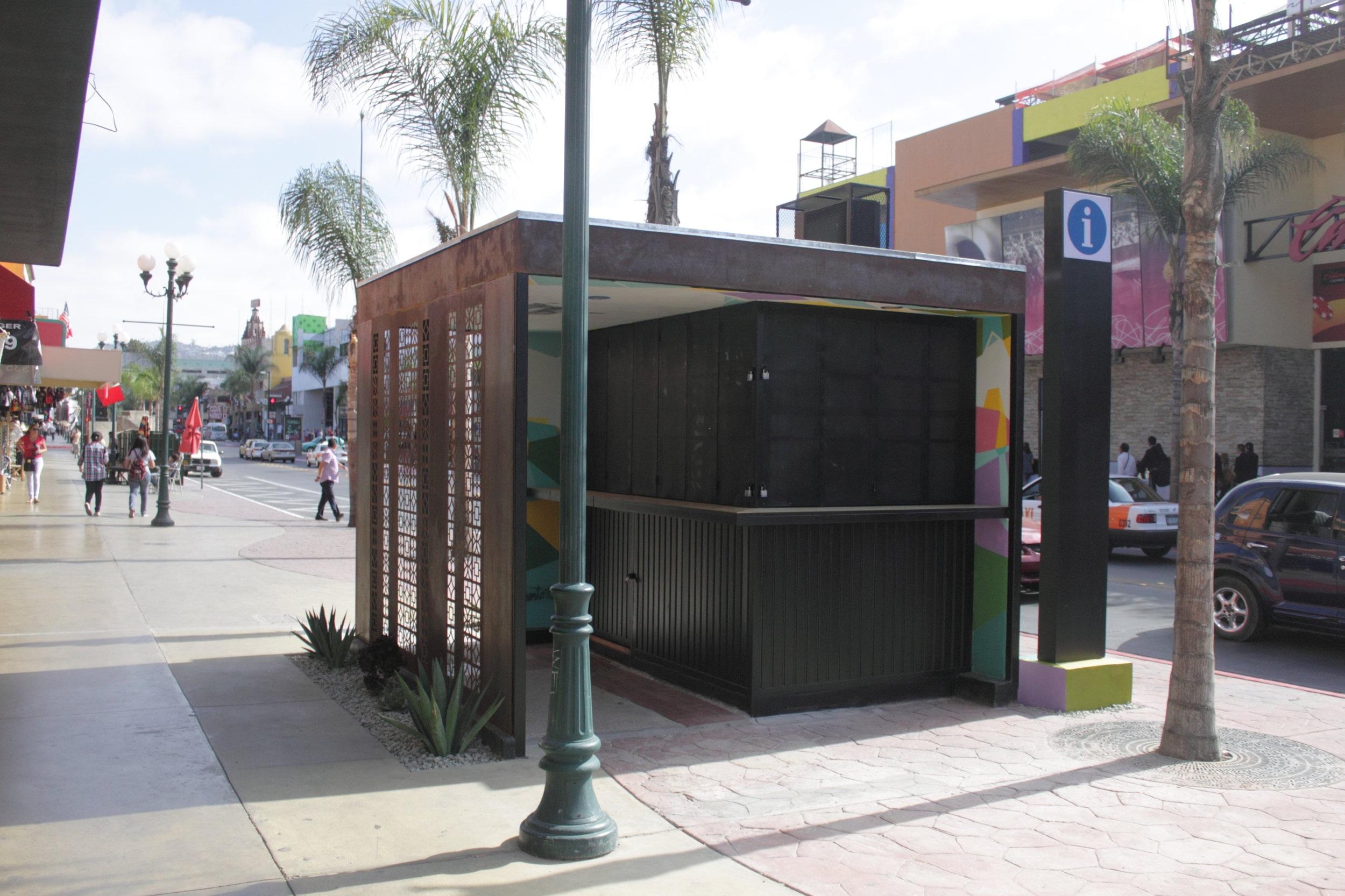 Módulo de Información - Obra Institucional (COTUCO Tijuana)