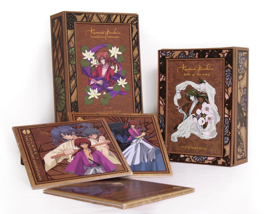 Rurouni Kenshin Complete DVD Bento set