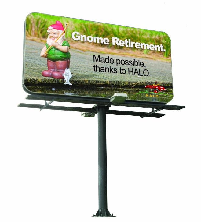 HALO Billboard