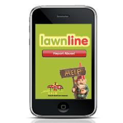 HALO LawnLine app