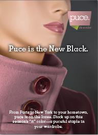 Puce Magazine Ad