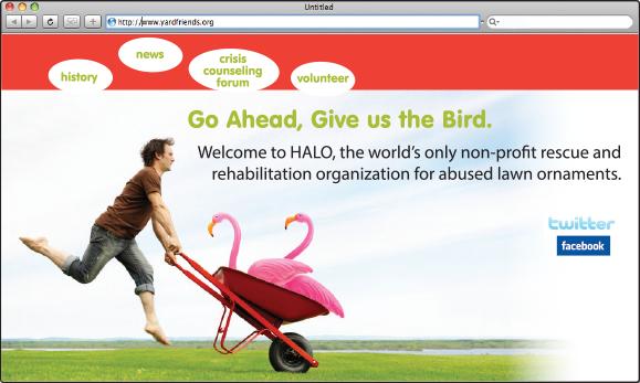 HALO Website