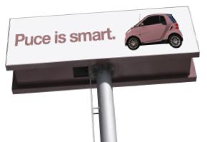 Puce Billboard