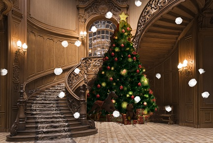 Here are the ghosts gathering at Christmas
