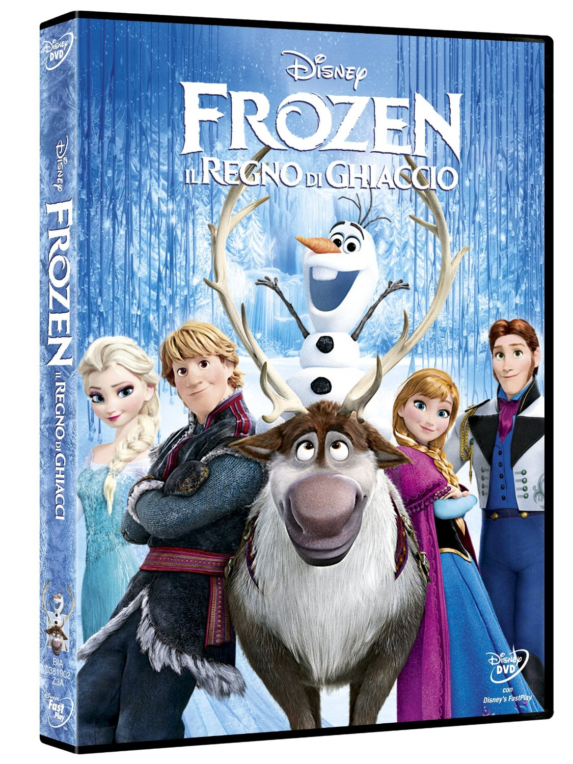 DVD - Frozen - Amazon.it - Walt Disney Pictures (C)