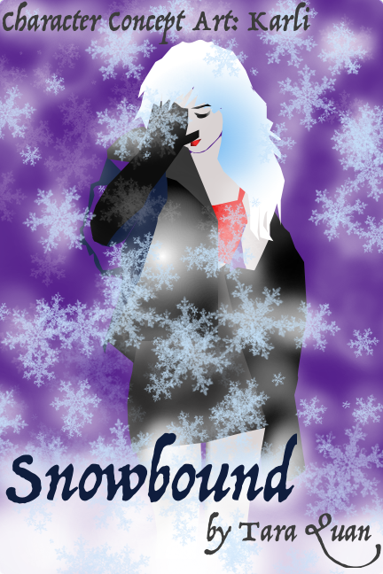 Character Concept Art: Karli from  Snowbound , a Spank or Treat Anthology short story by Tara Quan