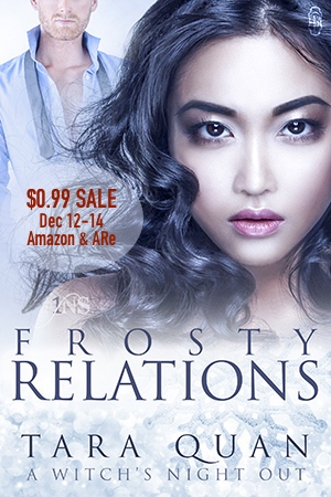 Frosty Relations, a Paranormal Christmas Romance by Tara Quan
