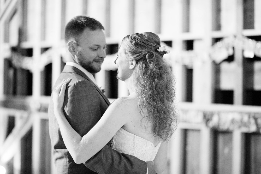 Lauren and Patrick's rustic farm reception took place in a barn in beautiful Andes, New York. Photographs by Hudson-Nichols Photography.