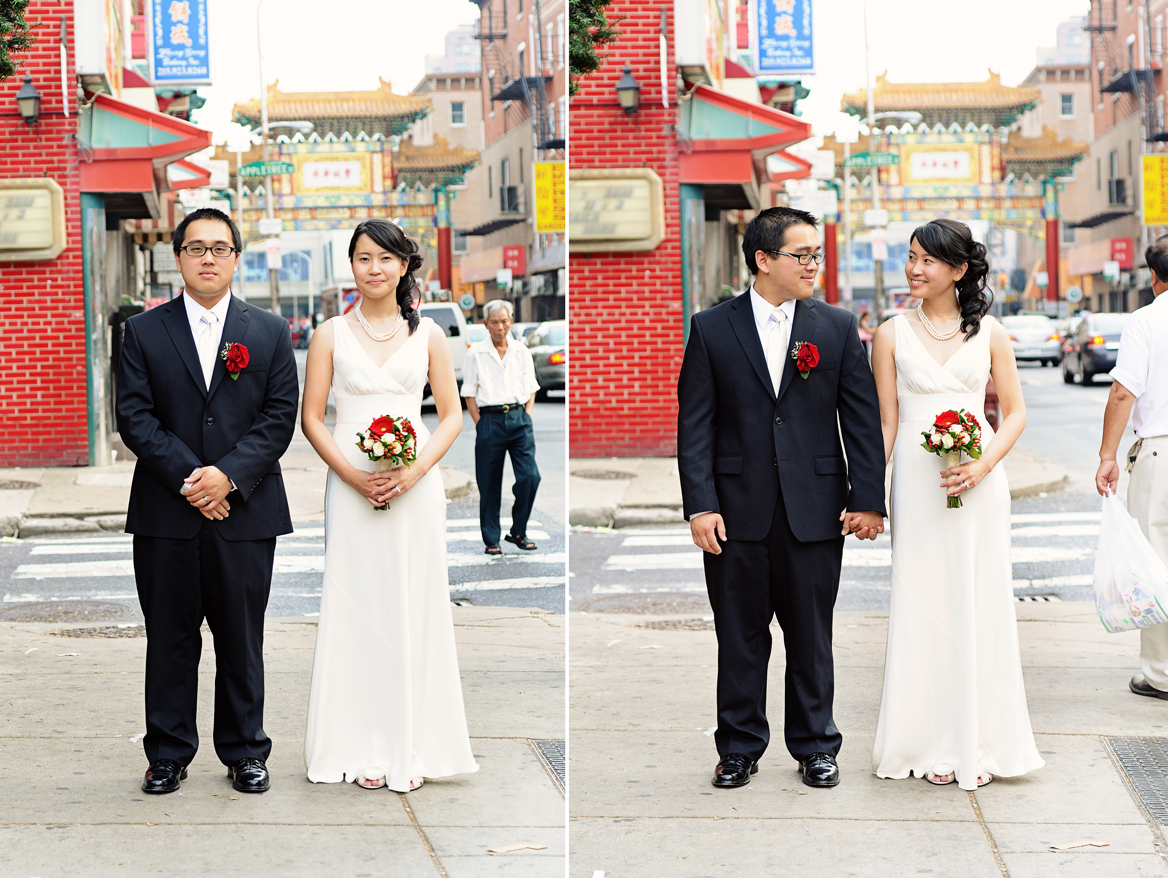 Yin and Hung's traditional wedding brought together Vietnamese and Chinese families for a day of authentic ceremonies and receptions in Delaware and Philadelphia. Photos by Hudson-Nichols Photography.