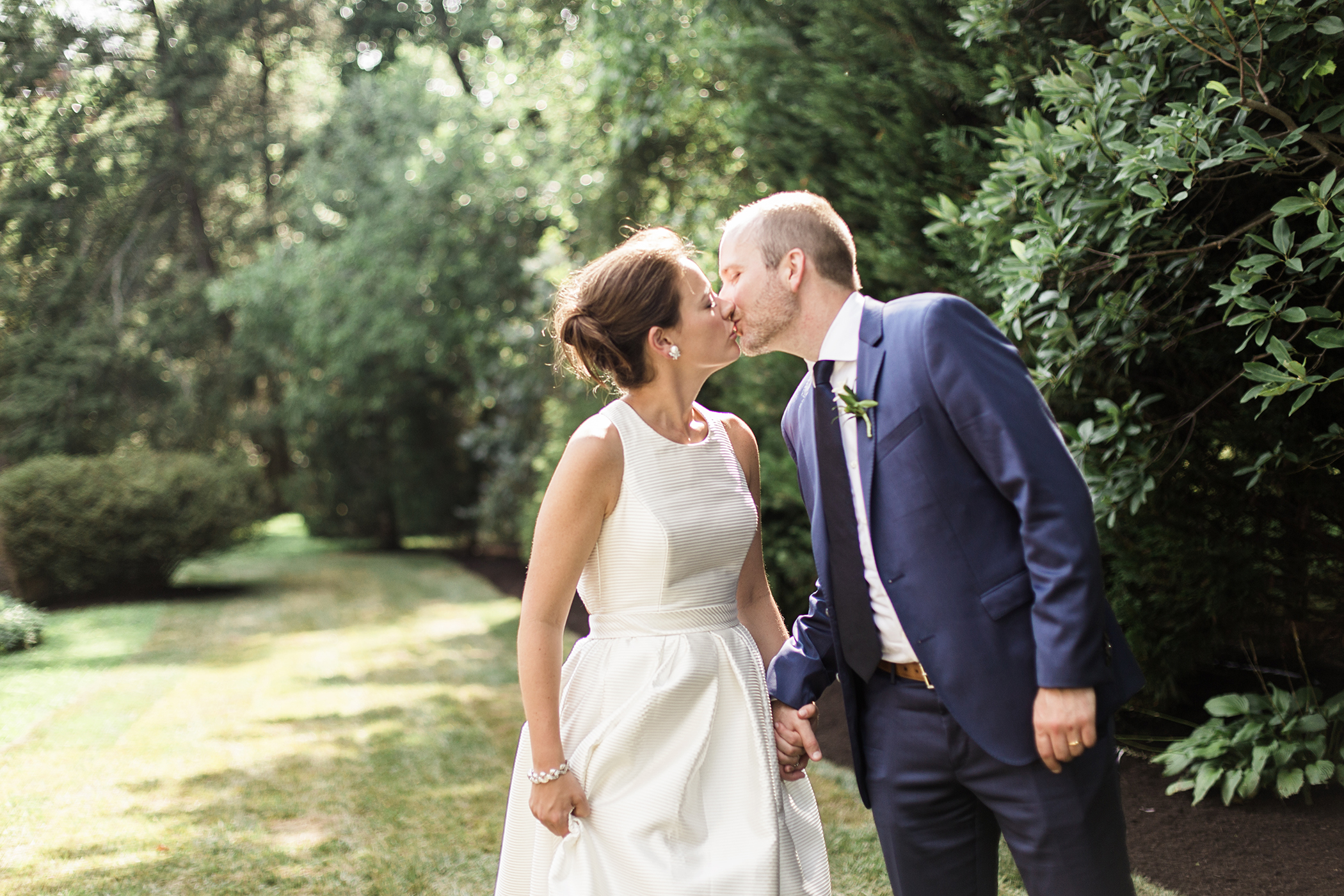Courtney and Dave's Preppy Malvern Wedding styled by J. Crew. Photographed By Hudson-Nichols Photography.