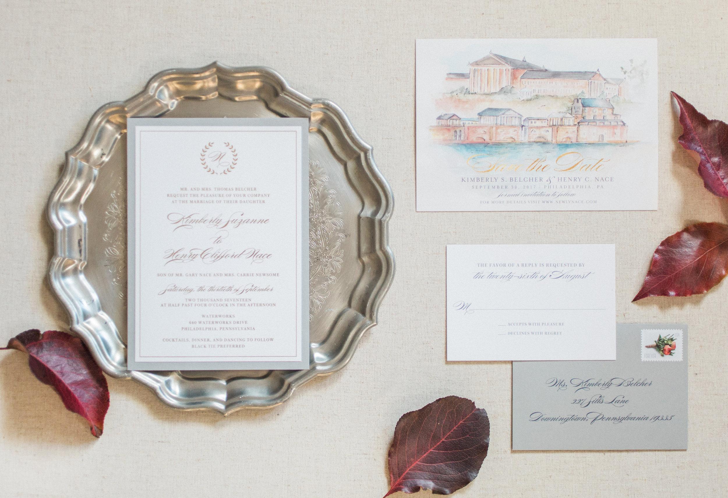 Hudson-Nichols-Black-Tie-Bride-Philadelphia-Waterworks-Wedding-Watercolor-Invitations-Papertree01.jpg
