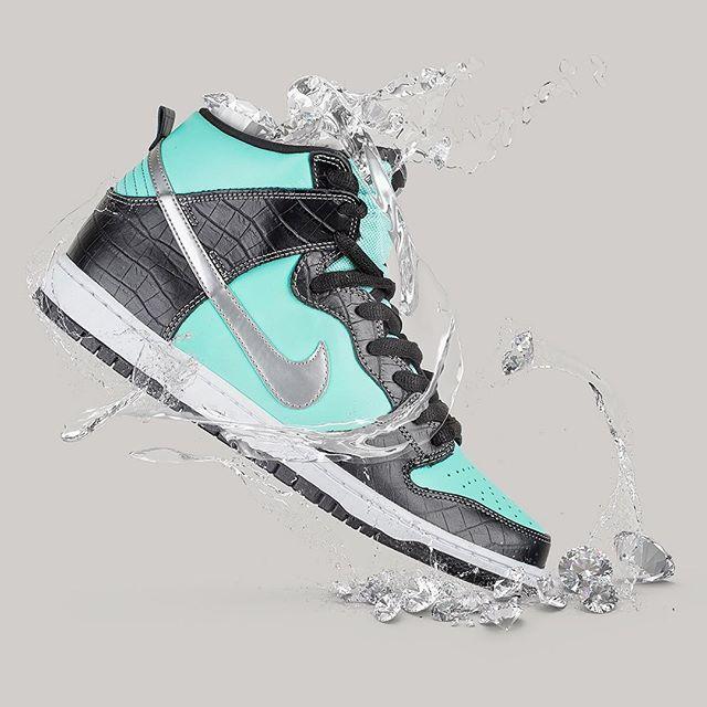 💎diamond cutter💎  #nikesb #tiffanys #nike #sneakersaddict #sneakerhead #sneakers #freshkicks #minimalistic #diamonds #complexkicks #nicekicks #igsneakercommunity #igsneakers