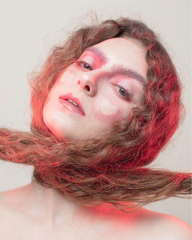 Waiting for a little sunshine. 💄: @henrimitchelle  #portrait #makeportraits #curls