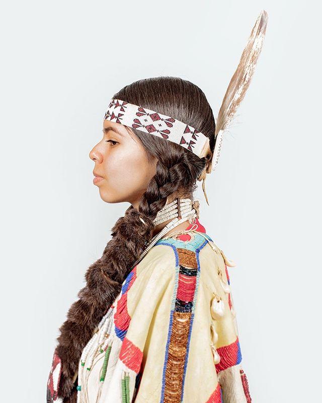 2018 Happy Canyon Princess, Sequoia  #nativeamerican #portrait #beauty #culture