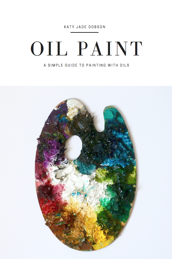 AVAILABLE NOW - A PDF guide to painting with oils.If you're new to paintings or want to learn about oil paints in more depth, this easy to use guide holds tips for the materials you need, to the techniques to try.Katy Jade Dobson has included her own self-taught techniques and approaches from her own practice and what she learnt along the way.
