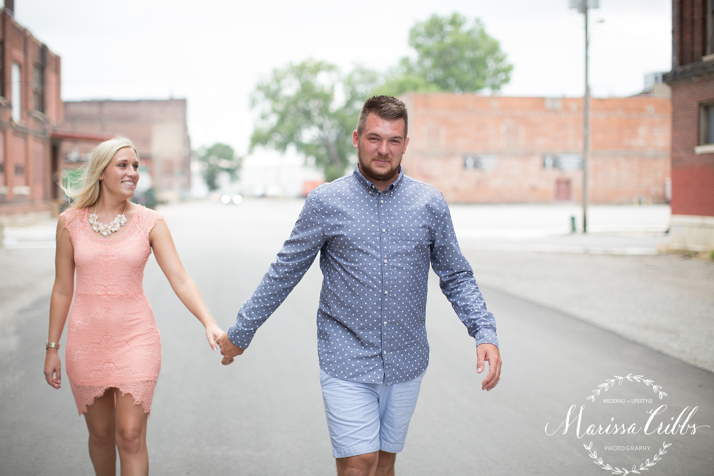 KC West Bottoms Engagement Session | Marissa Cribbs Photography