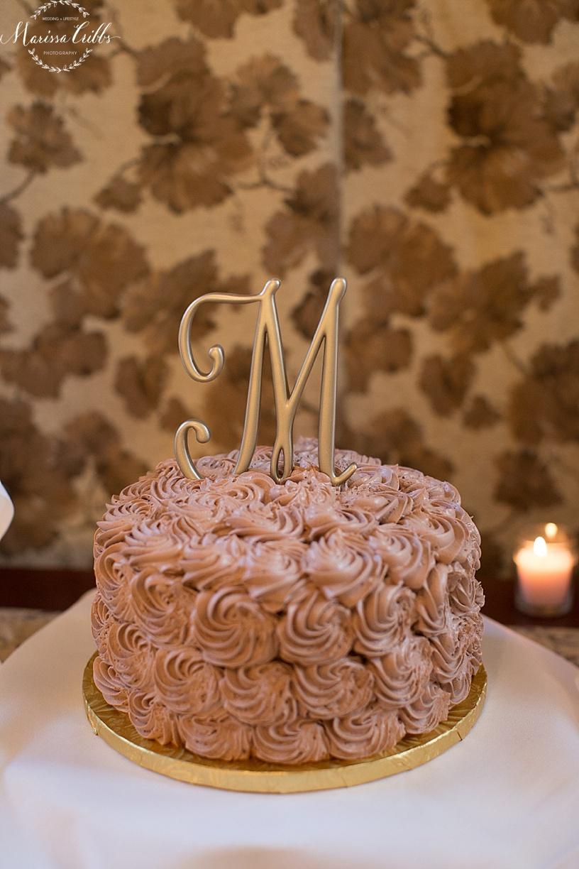 Wedding Cake | Cellar 222 | Marissa Cribbs Photography