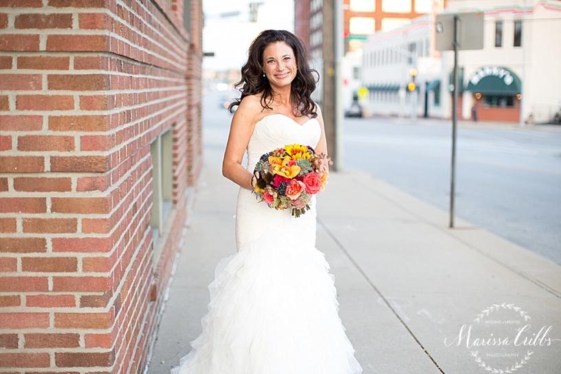 Bride | Bridal Portraits | Marissa Cribbs Photography | KC Wedding Photography | Cellar 222