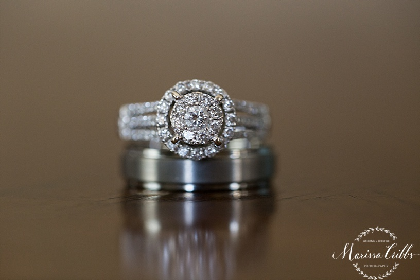 Wedding Rings   KC Wedding Photographer   Marissa Cribbs Photography