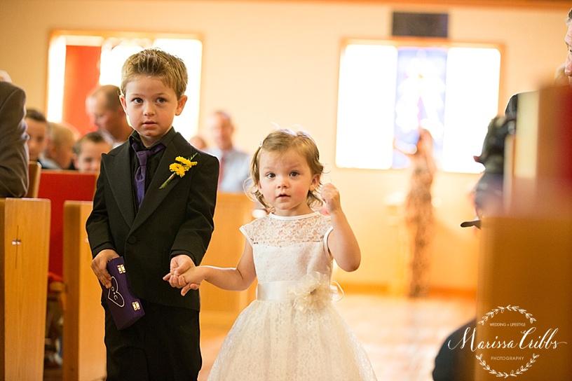 United Methodist Church   Tonganoxie, KS Wedding Ceremony   KC Wedding Photographer   Marissa Cribbs Photography
