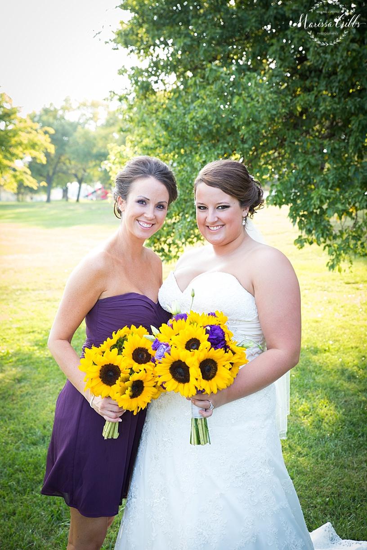 Bridal Party Pictures   KC Wedding Photographer   Marissa Cribbs Photography   Bridesmaid