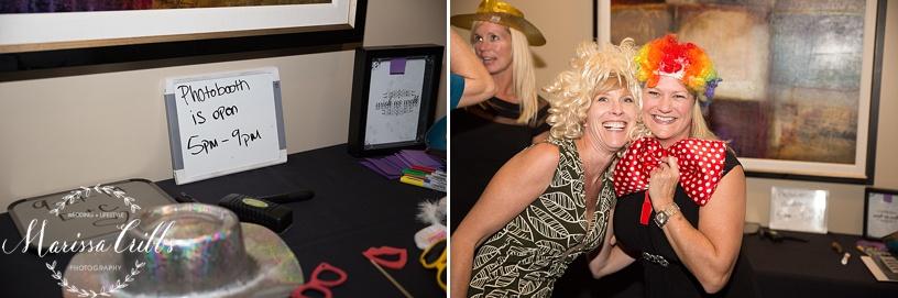 Ball Conference Center   KC Wedding Photographer   Wedding Reception   Marissa Cribbs Photography   Photo Booth
