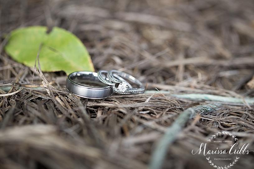 Wedding Rings | Marissa Cribbs Photography