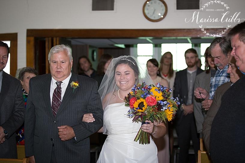 Clearfield United Methodist Church Weddings | Marissa Cribbs Photography