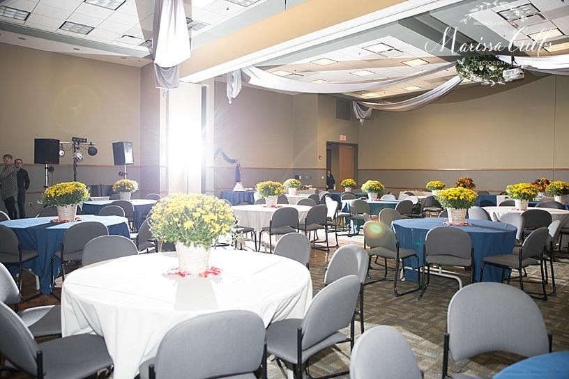 Ball Conference Center Reception | Marissa Cribbs Photography