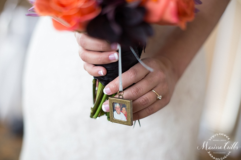 Bridal Bouquet Charm | Marissa Cribbs Photography | Flowers By Emily