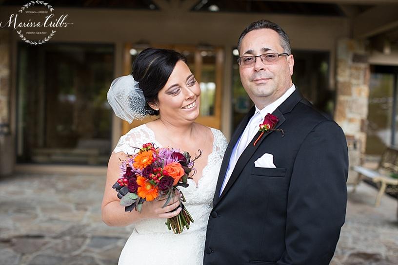 KC Weddings | Deer Creek Golf Club | First Look | Marissa Cribbs Photography