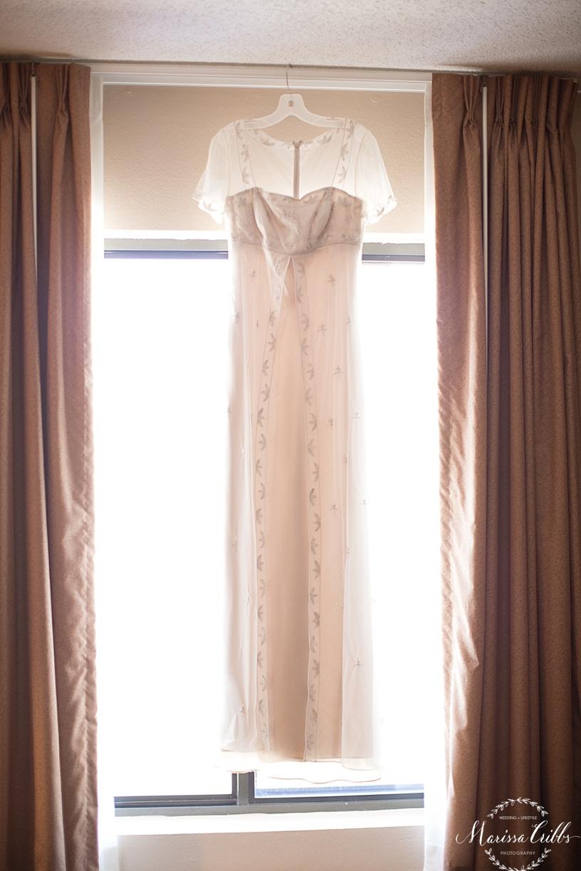 Bride getting ready | KC Weddings | Wedding Gown