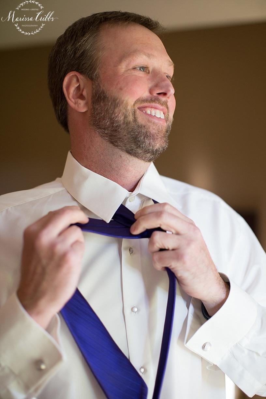 Groom getting ready | KC Weddings