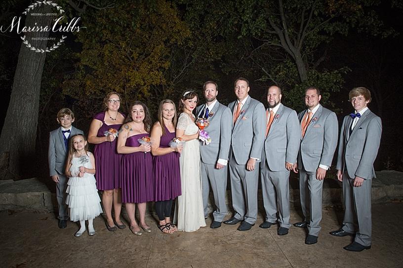 Bridal Party Portraits | KC Weddings | James P. Davis Hall