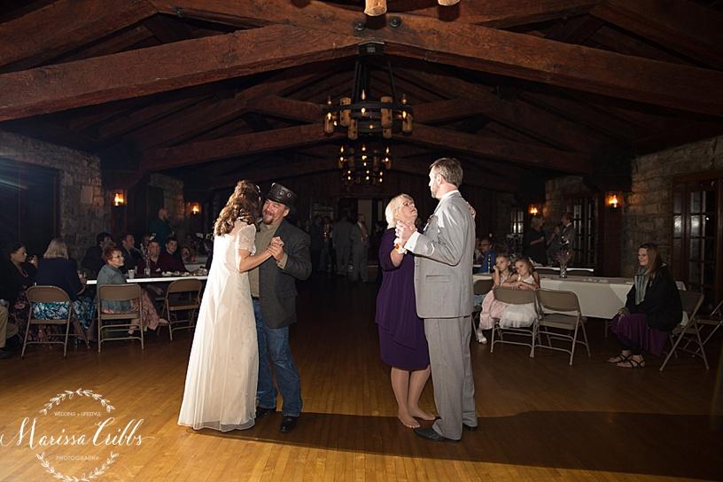 Father / Daughter Dance | Mother / Son Dance | KC Weddings | James P. Davis Hall
