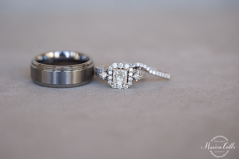 St. Michael The Arch Angel | Leawood, KS | Marissa Cribbs Photography | Wedding Ceremony | Rings