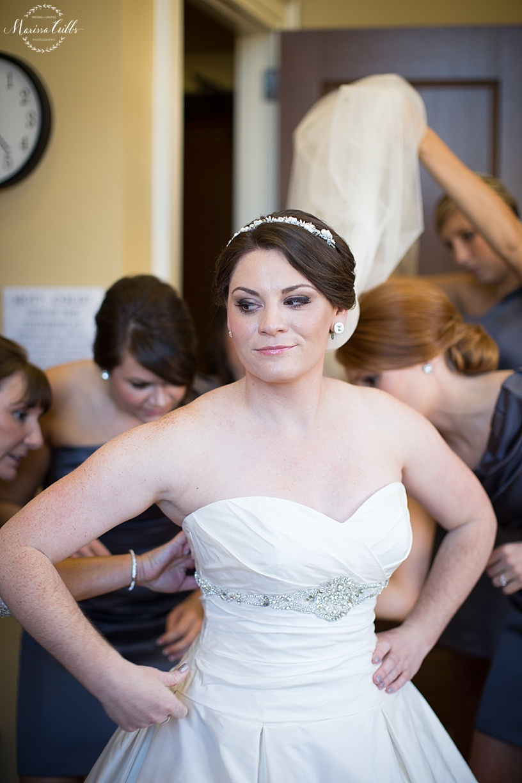 St. Michael The Arch Angel | Leawood, KS | Marissa Cribbs Photography | Wedding Ceremony