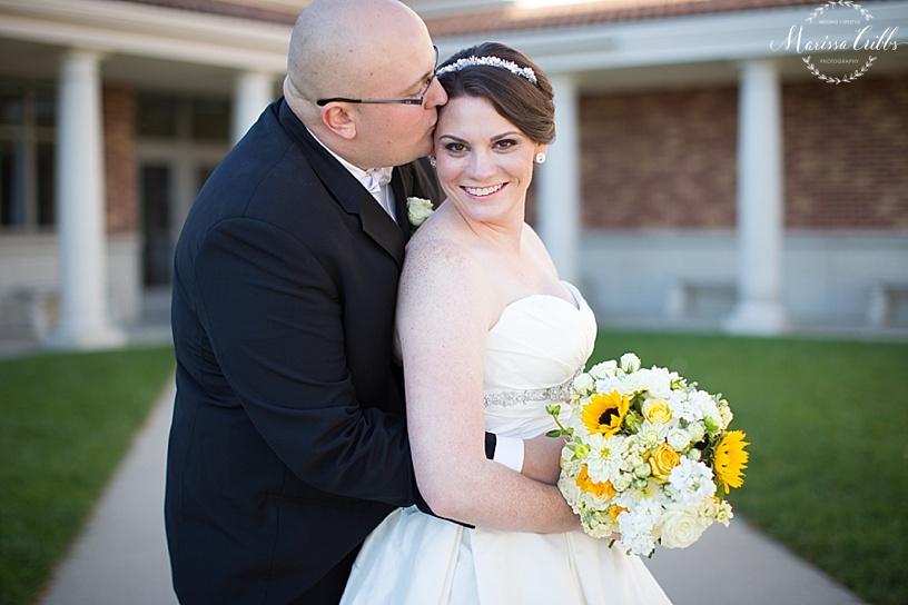 Bride and Groom Portraits | St. Michael The Arch Angel | Kansas City Wedding Photographer | Marissa Cribbs Photography