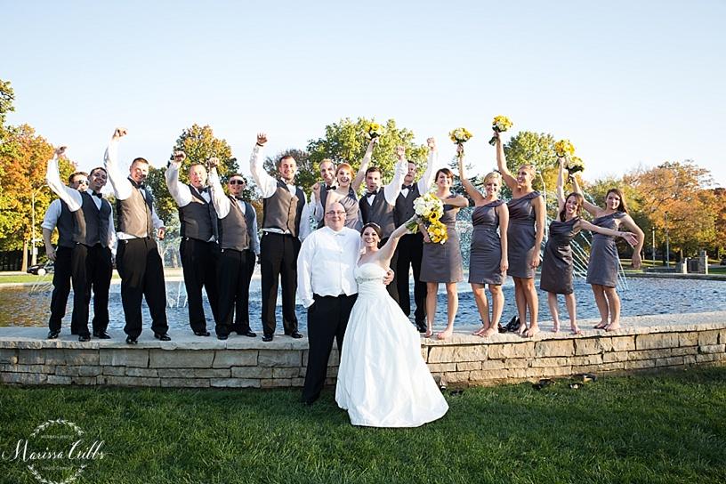 Wedding Party | Loose Park | Kansas City Wedding Photographer | Marissa Cribbs Photography