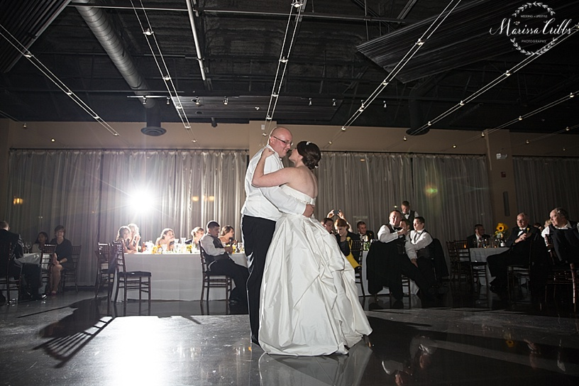 Wedding Reception | The Venue in Leawood | Marissa Cribbs Photography | First Dance