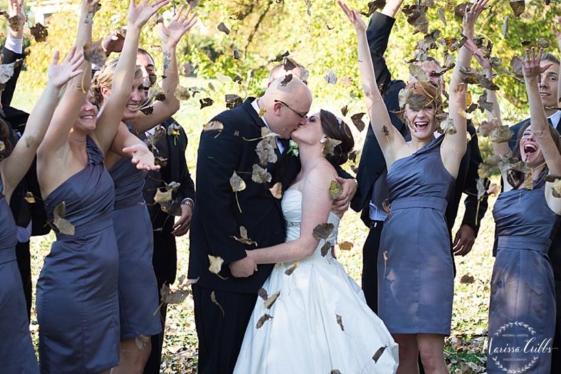 Loose Park Wedding Party | Marissa Cribbs Photography | KC Wedding Photographer